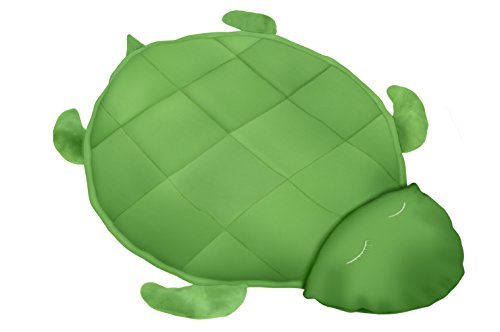 Covered In Comfort Weighted Fleece Turtle Blanket by Covered in Comfort