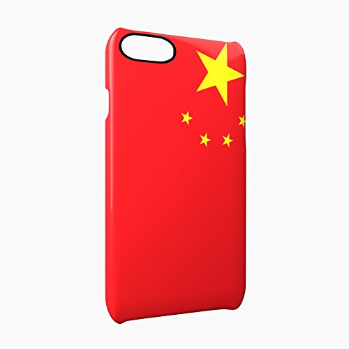 Flag of China Glossy Hard Snap-On Protective iPhone 7 Case Cover
