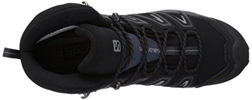 Zapatillas De Trail Running Salomon Para Hombre X Ultra 3 Wide Mid Gtx Negras