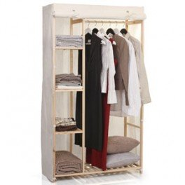 armoire penderie tissu bois my blog. Black Bedroom Furniture Sets. Home Design Ideas