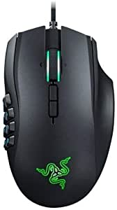 Razer Naga Trinity Chroma MMO Gaming Mouse , Up to 19 Programmable buttons - Interchangeable Side