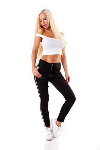 OSAB-Fashion - Jeans - Femme Noir