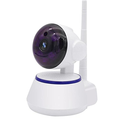 WensLTD 720P Baby Monitor Security Digital Baby Videos Camera with Night Vision / 2 Way Talking System WiFi IP Security Pan Camera
