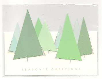 Amazon sunrise greetings cut out christmas tree card health