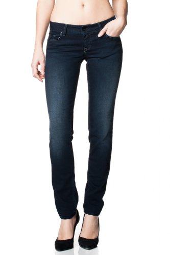 Bleu Salsa Slim 24 Touch Jeans Soft Up Jambe Shape Foncé qqgvwS