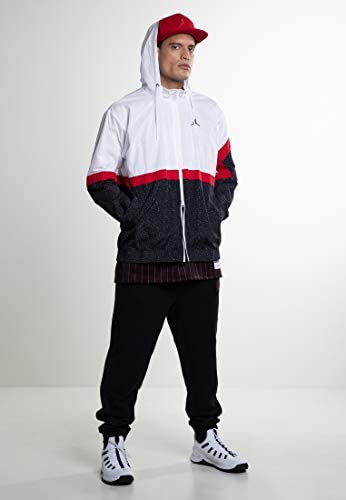 Nike Men's Diamond Cement Jacket, White