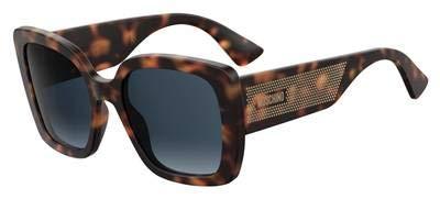 Sunglasses Moschino Mos 16 /S 0086 Dark Havana / 08 dark blue gradient lens ()