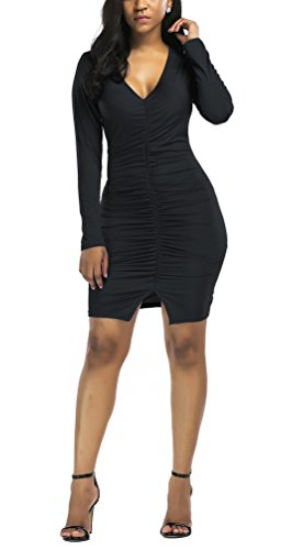 night black dresses plus size - 2