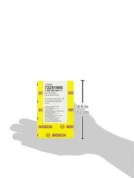 Bosch 72251 WS taller motor filtro de aceite: Amazon.es ...