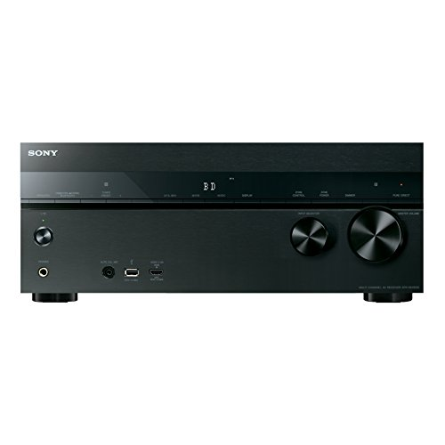 Sony Str Dn1050 7 2 Channel Hi Res 4K Av Receiver  Built In Wi Fi   Bluetooth
