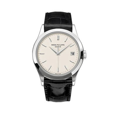 Patek Philippe Calatrava Men's 18K White Gold Watch - 5296G-010