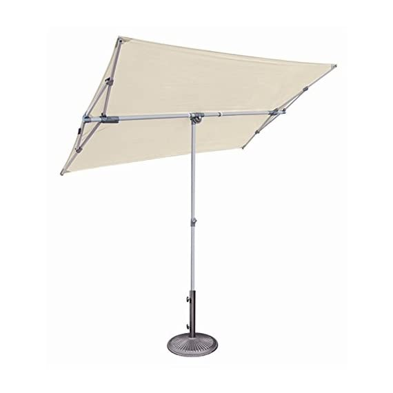 SimplyShade Capri Patio Umbrella in Natural - Finish: Natural Material: Polyester Fabric Shape: Rectangle - shades-parasols, patio-furniture, patio - 314Gj%2BBSCBL. SS570  -