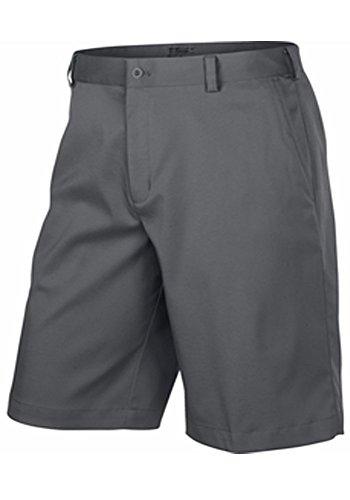 Nike Golf Shorts (Nike Mens Flat Front Tech Golf Shorts (36, Carbon)