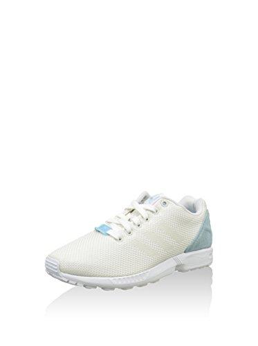 adidas ZX Flux Weave Damen Sneakers Weiß/Himmelblau