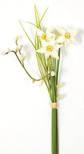 AUF001-15-Inch-Narcissus-Flower-Bundle-Signature-Foliage