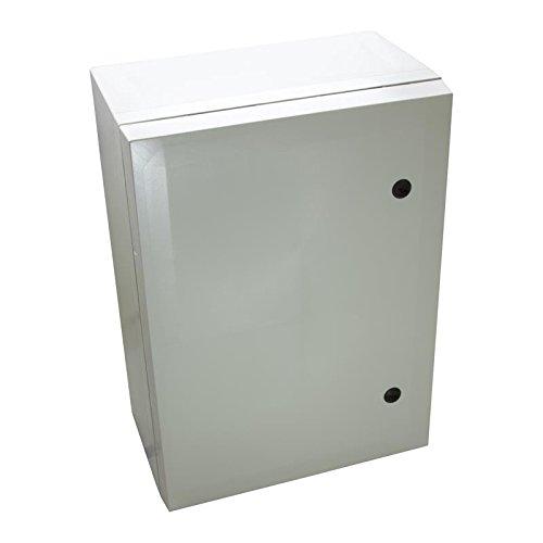 Fibox Enclosures ARCA 705030 No-MP Non-Metallic Polycarbonate Enclosure with Double-Bit Locking Opaque Cover, 11.81