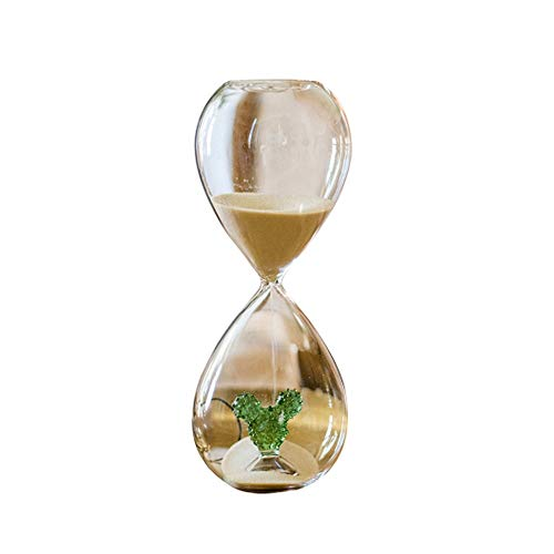 HENGT Hourglass, Desert Cactus Hourglass, Tabletop Decoration Timer, Semi-Manual Craft, Can Be Used As A Gift, Time 5/10 Minutes Toy Home Office Table Decoration Gift