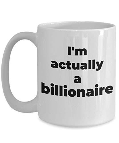 Billionaire Mug Costume Future Coffee Cup Novelty Gift Ideas Funny Ceramic Tea -