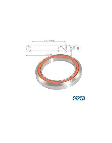 Motodak Roulement Cartouche Jeu Direction 11//8 41.8x30.5x6.5 mm 45/°x45/° Argent