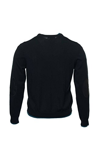 Baruffa The Men's Store Black Heather Crew Neck Sweater, Size XLarge by Baruffa (Image #3)