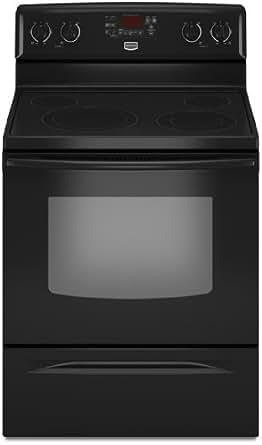 Maytag MER7775WB 30 Freestanding Electric Range - Black