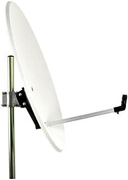 TELEVES Antena parabólica de 80cm de Acero en Color Blanco ...