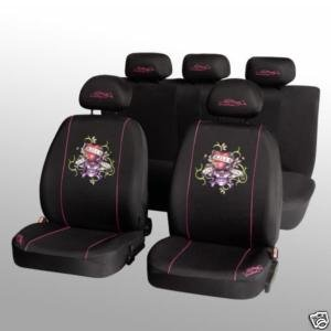 Ed Hardy 11 Piece Seat Cover Set Love Kills Slowly Amazon