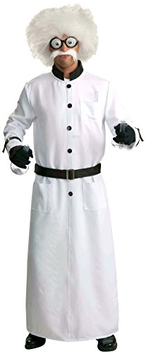 Forum Novelties Men's Mad Scientist Costume, White, Standard ()