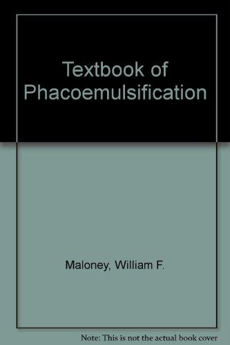 Textbook of Phacoemulsification