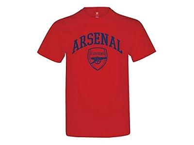 Arsenal FC Crest T Shirt - Authentic UK Merch