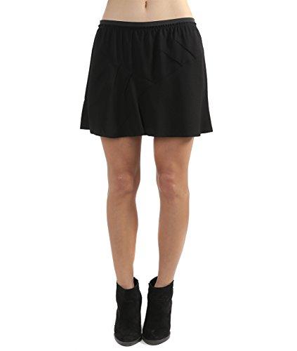 wiberlux-isabel-marant-anais-womens-elastic-waist-flared-mini-skirt-38-black