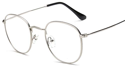75121ce0d15 Sheomy Unisex Clear Round Transparent Wayfarer Spectacle Eye Frame ...