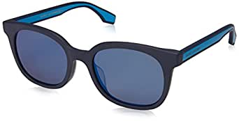 Marc Jacobs Men's Marc289fs Rectangular Sunglasses, MTT Blue, 53 mm