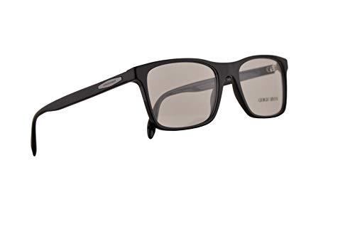 Giorgio Armani AR7163 Eyeglasses 55-18-145 Black w/Demo Clear Lens 5001 AR ()
