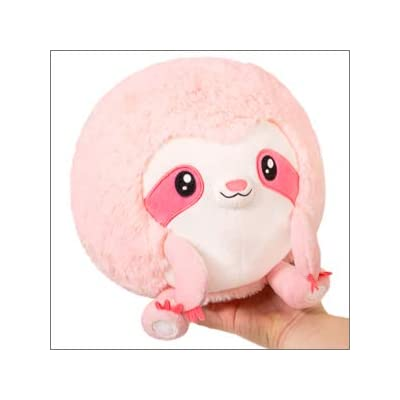 "Squishable Mini Pink Sloth 7"": Toys & Games"