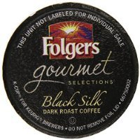 Folgers Gourmet Selections K-Cup Single Cup for Keurig Brewers, Black Silk, 24 Count Thank you for using our service