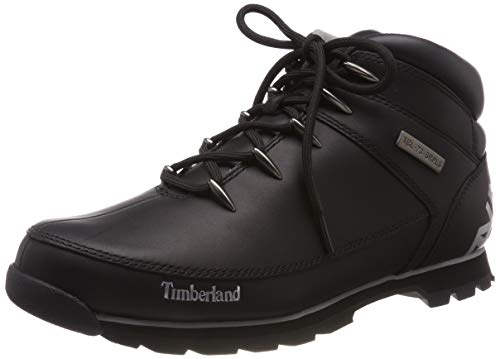 Timberland Mens Euro Sprint Hiker Shoes Walking Hiking Ankle Boots - Black - 7.5