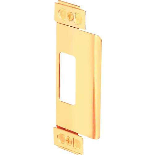 Prime-Line Products U 9495 Adjustable Door Strike, Brass Plated -