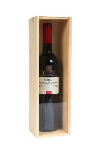 Amazon Com Spiritedshipper One Bottle Wooden Wine Gift Box With
