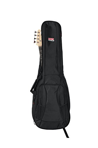 Gator Cases 4G Series Double Gig Bag for Bass Guitars with Adjustable Backpack Straps (GB-4G-BASSX2) by Gator (Image #1)