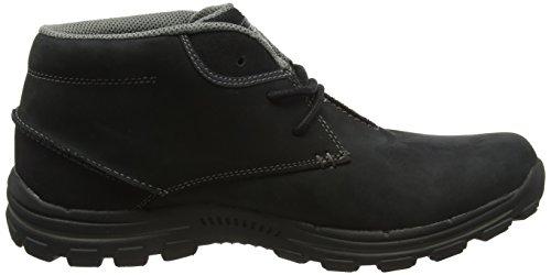 Skechers Braver-Horatio, Botines para Hombre Negro - Black (Blk - Black)