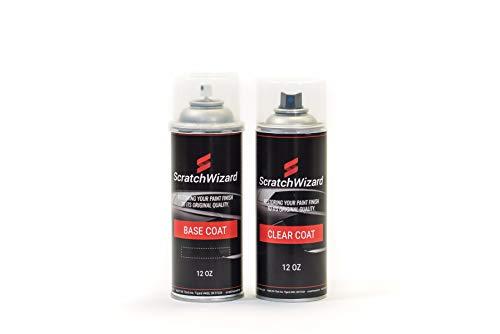 Celeste Coat - ScratchWizard Automotive Spray Paint for Lamborghini All Models LAM (Celeste Phoebe) Spray Paint + Spray Clear Coat