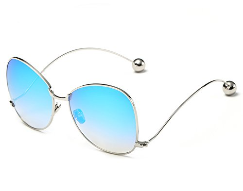 Sonnenbrillen Metallrahmen Degradado Frauen Claro Runde Übergroßen Modo Schmetterling Frauen Blue Sonnenbrille KXLEB Brillen Lente Für Markendesigner Marron BvYfn8