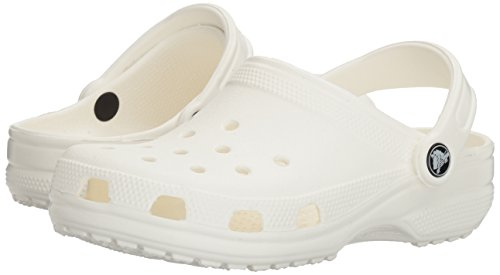 crocs Unisex Classic Clog,White,12 M US Men's / 14 M US Women's