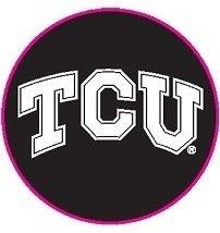 Texas Christian TCU Horned Frogs Arcade Desk Clock