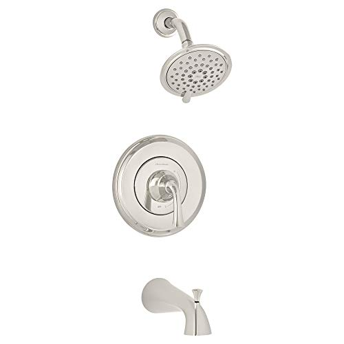 (American Standard T106508.013 Patience Bath and Shower Trim Kit, Polished Nickel)
