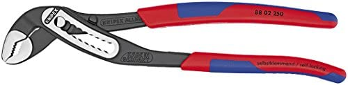 KNIPEX Tools - Alligator Water Pump Pliers, Multi-Component (8802250)