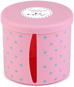 XXAICW Simple y de moda salón servilletas cajas de servilleta de comedor cilíndrica rollos tejido almacenamiento cajas de papel caja de papel del libro, Rosa redondo: Amazon.es: Hogar