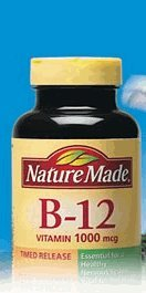 Nature Made Vitamin B-12 1000 mcg Timed Release, 300 Tablets ()