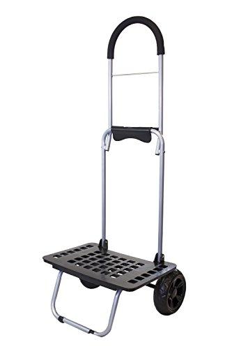 Terrain Bucket - dbest products Bigger Mighty Max Personal Dolly, Black Handtruck Cart Hardware Garden Utilty